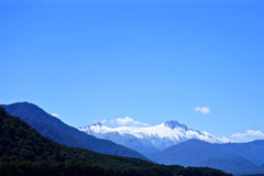 New Zealand Mountain range Royalty Free Stock Photography