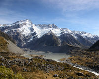 New Zealand Mountains Royalty Free Stock Photography