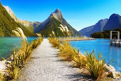 New Zealand, National Parks stock images
