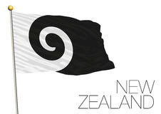 New zealand, new flag proposal finalist 2016 Royalty Free Stock Images