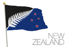 New zealand, new flag proposal finalist 2016 Royalty Free Stock Image