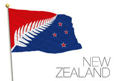 New zealand, new flag proposal finalist 2016 Stock Photo