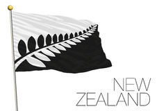 New zealand, new flag proposal finalist 2016 Stock Photos