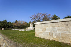 New Zealand Outpost, Anzac Memorial at Gallipoli Royalty Free Stock Photo