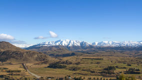 New Zealand Panorama Royalty Free Stock Photo