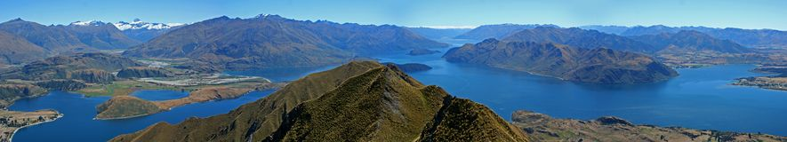 New Zealand Panoramic Royalty Free Stock Image