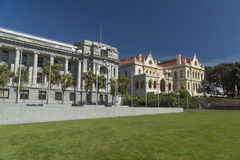 New Zealand Parliament and Library buildings Royalty Free Stock Photography