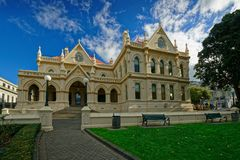 New Zealand Parliamentary Library building, Wellington royalty free stock photo
