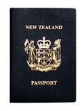 New Zealand passport Royalty Free Stock Photo
