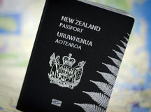 New Zealand passport Royalty Free Stock Images