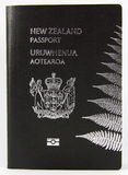 New Zealand Passport - New style Royalty Free Stock Images