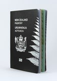 New Zealand Passport - New style Stock Image