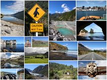 New Zealand photos Royalty Free Stock Photography