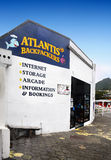 New Zealand, Picton, Accommodation. Atlantis - Backpackers Picton Lodge - exterior Royalty Free Stock Photo