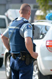 New Zealand Police Force Royalty Free Stock Images
