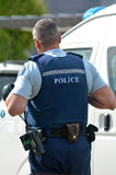 New Zealand Police Force Stock Photography