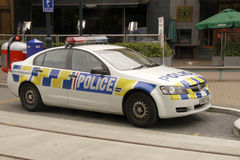 New Zealand Police Squad Car Royalty Free Stock Photography