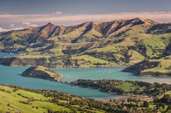 New Zealand pristine scenery Stock Photography