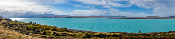 New Zealand - Pukaki Lake Royalty Free Stock Image