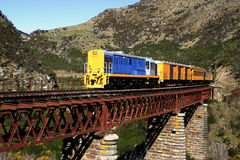 New Zealand Railway Royalty Free Stock Photos