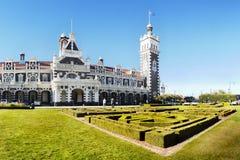 New Zealand, Railway Station, Dunedin Stock Images