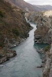 New Zealand river. Picture of a river in New Zealand, very much lord of the rings nature royalty free stock photo