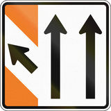 New Zealand road sign - Advance exit sign Stock Photography