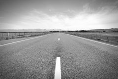 New Zealand road Stock Photography