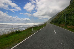 New Zealand roads Royalty Free Stock Photo
