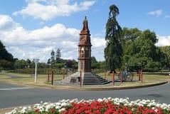 New Zealand- Rotorua. New Zealand, Arawa war memorial in Rotorua Royalty Free Stock Photo