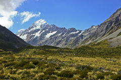 New Zealand's Mt Cook Royalty Free Stock Photos