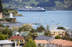 New Zealand`s Resort Town Stock Photography