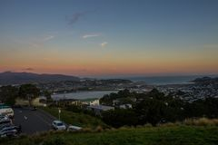 Wellington city. New Zealand`s second largest city is also the capital Royalty Free Stock Images