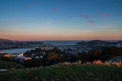 Wellington city. New Zealand`s second largest city is also the capital Royalty Free Stock Photo