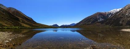 New Zealand scenery in spring Stock Image