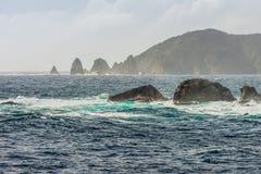 New Zealand scenic coastline landscape Royalty Free Stock Photography