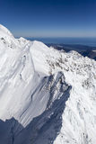 New Zealand snow mountains Royalty Free Stock Photo
