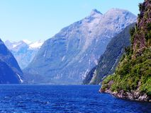 New Zealand Southern Alps Mountains Royalty Free Stock Photos
