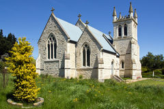 New zealand, st. martins church in duntroon Royalty Free Stock Photo