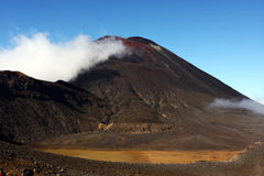 New Zealand. Taken on the North Island of New Zealand, a barren landscape on Tongariro trail Stock Photography
