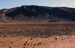 New Zealand. Taken on the North Island of New Zealand, a barren landscape on Tongariro trail Royalty Free Stock Image