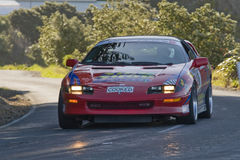 New Zealand Targa Rally Stock Photo