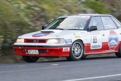 New Zealand Targa Rally Royalty Free Stock Photo