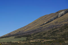 NEW ZEALAND 16TH APRIL 2014;  Amazing view South Island, New Zealand Royalty Free Stock Image