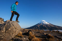 New Zealand trekking Royalty Free Stock Image