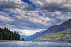 New Zealand, View of Lake Wakatipu Royalty Free Stock Photography