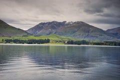 New Zealand, View of Lake Wakatipu Royalty Free Stock Image