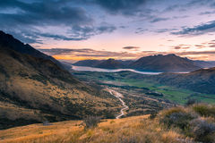 New Zealand view. Stock Images