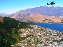 New Zealand view of Queenstown Stock Photography