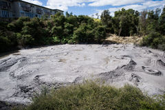 New Zealand volcano Royalty Free Stock Images